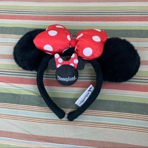 Minnie Mouse ears and antennae ball